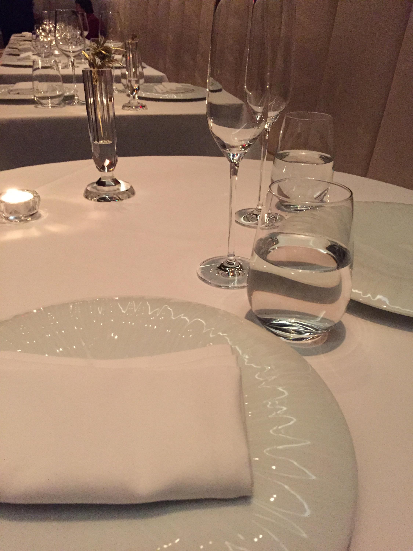 table setting @Jungsik