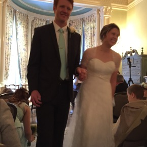 Winter Wedding at the College Club of Boston