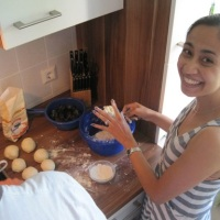 German Plum Dumplings - {BlueBoots Goes to Germany - and learns to cook something special!}
