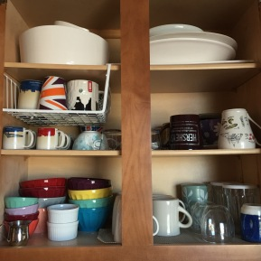Small Spaces: Tackling Kitchen Cupboard Reorganization {homeprojects}