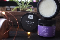 nourish night balm and peacefull body butter