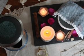 florapothecarie rose himalayan bathing salts + DIY Facial Steam // on my WellnessTray
