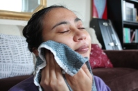 relaxation DIY facial steam