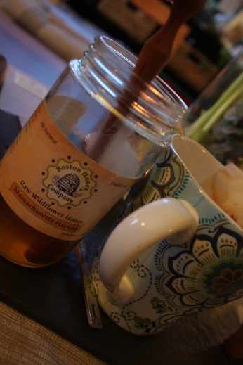 new england tea time