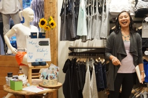 Pack LIGHT, Style RIGHT – recap of a BlueBootsGo travel-style-wellness event with Athleta & Follain + a surprise at the end!
