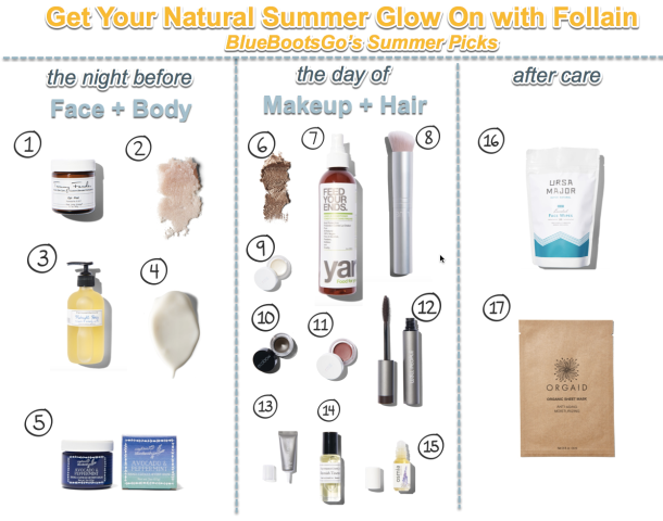 Summer Glow Picks with Follain - get wedding ready!